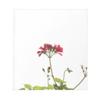 Fresh Flower Notepad