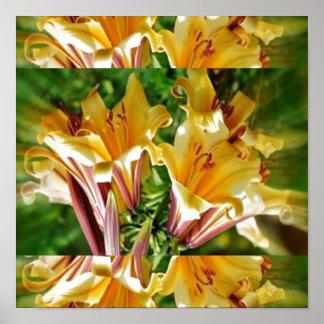 FRESH Flower Show : Golden Yellow Positive Energy Print