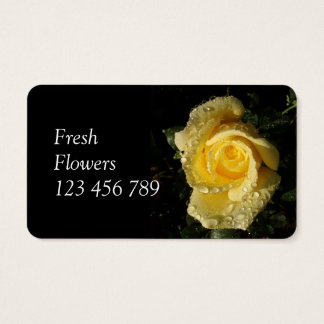 Fresh Flowers Business Cards