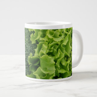 Fresh Food Lettuce and Broccoli Large Coffee Mug