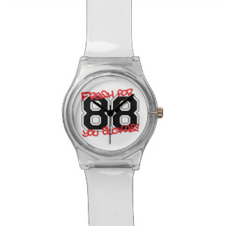 Fresh for '88 wrist watch