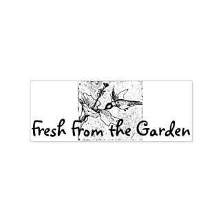 Fresh From the Garden Rubber Stamp