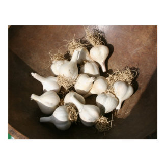 Fresh Garlic at Shaker Square Farmers Market Postcard