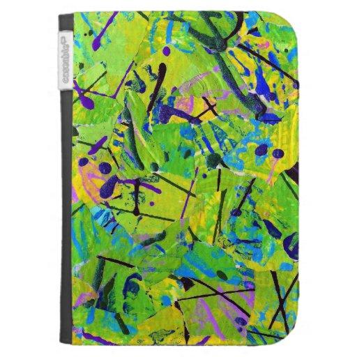 Fresh Grass Kindle Case