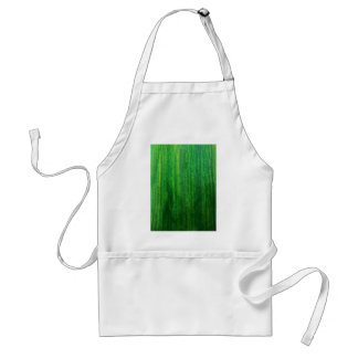 Fresh Green grass painting Adult Apron