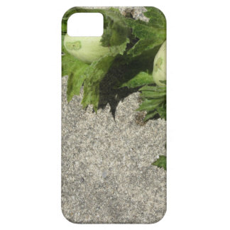 Fresh green hazelnuts on the floor barely there iPhone 5 case
