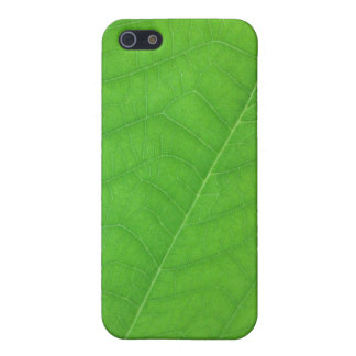 Fresh Green Leaf Texture Cover For iPhone 5