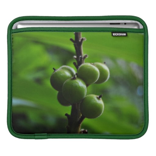 Fresh Green Nature Sleeve For iPads