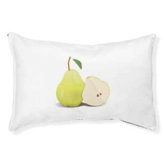 Fresh Green Skinned Pear Pet Bed