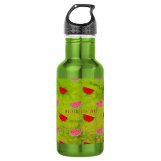 Fresh Green Watermelon Smoothie Water Bottle