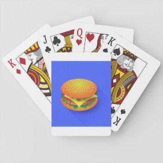 Fresh Hamburger Playing Cards