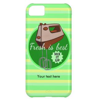 Fresh is best retro mixer design iPhone 5C case