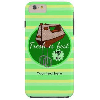 Fresh is best retro mixer design tough iPhone 6 plus case