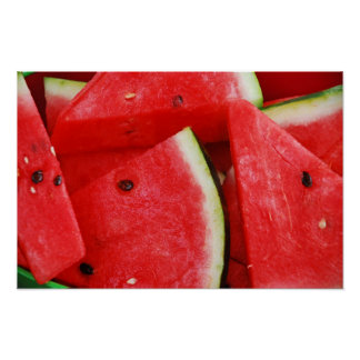 Fresh juicy watermelon print