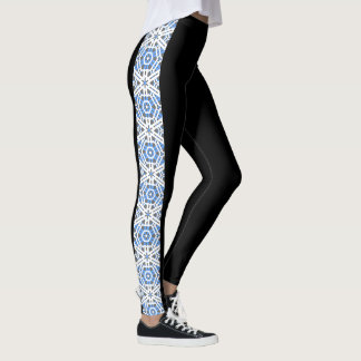 """Fresh Legs"" Side Pattern Leggings 1"