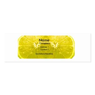 Fresh Lemon Business Card Templates