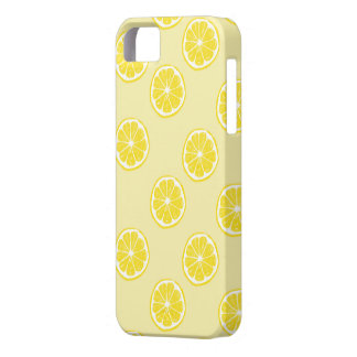fresh lemon fruits pattern iphone 5 iPhone 5 cover