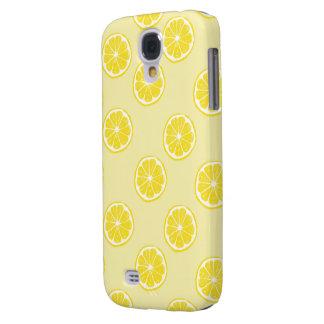 fresh lemon fruits pattern samsung galaxy S4 Samsung Galaxy S4 Cover