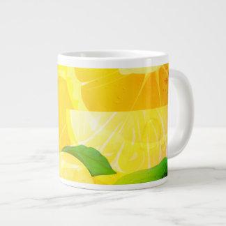 Fresh Lemon Slice 20oz Jumbo Mug