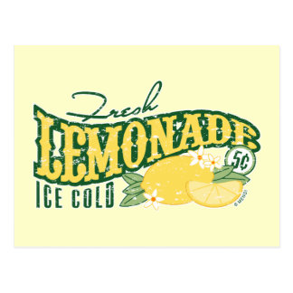 Fresh Lemonade Postcard