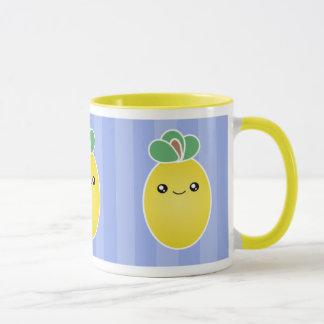 Fresh Lemons Kawaii Mug