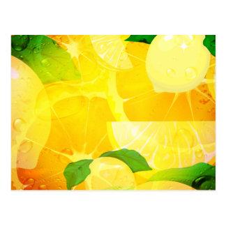 Fresh Lemons Postcard