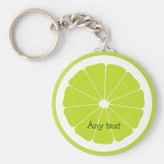 Fresh Lime Theme Keychains