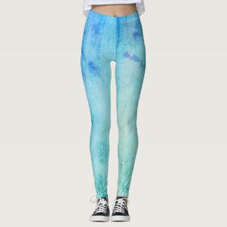 Fresh mare blue designers Leggings / Yoga edition