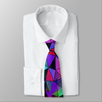 Fresh Modern Triangles Tie