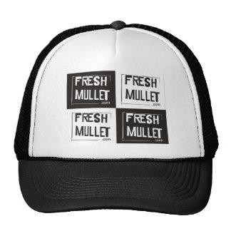 FRESH MULLET Logo - Check it Mesh Hats