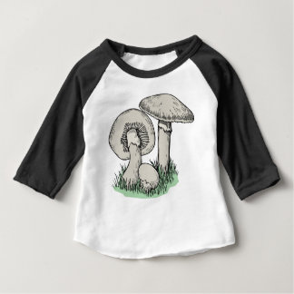 Fresh Mushrooms Baby T-Shirt
