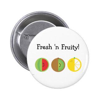Fresh n Fruity 2 25 Inch Round Button