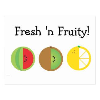 Fresh 'n Fruity Postcards
