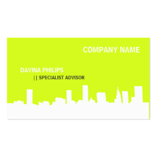 FRESH NEW PROFESSIONAL ARTIST URBANO CITY PACK OF STANDARD BUSINESS CARDS
