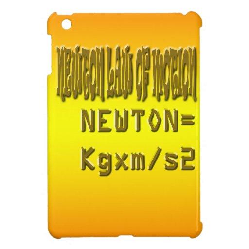 Fresh newton law of motion iPad mini cases