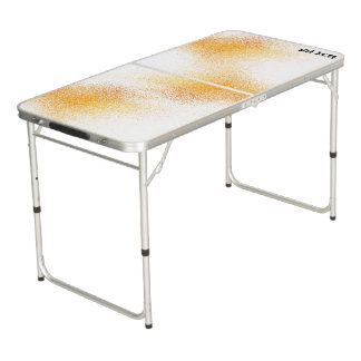 Fresh Orange Juice Spray Beer Pong Table