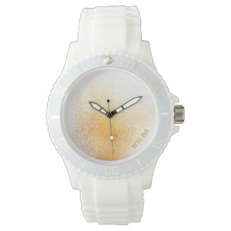 Fresh Orange Spray Wristwatch
