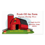 Fresh Organic Farming Business Card Templates