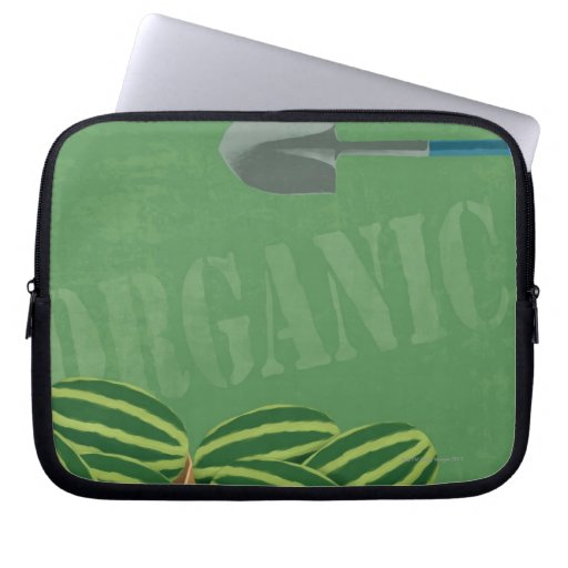 Fresh Organic Melons Computer Sleeve