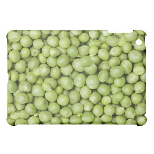 Fresh organic peas 2 iPad mini case
