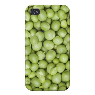 Fresh organic peas 2 iPhone 4 covers