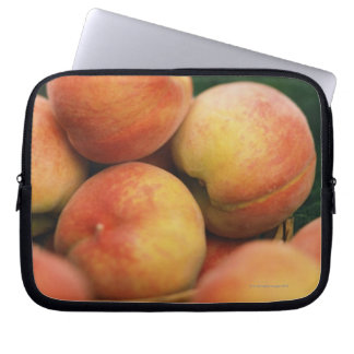 Fresh peaches computer sleeves