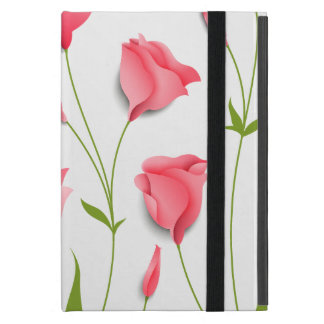 Fresh Pink Spring Flowers Case For iPad Mini