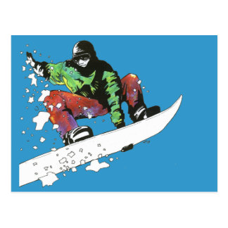 Fresh Powder Postcard