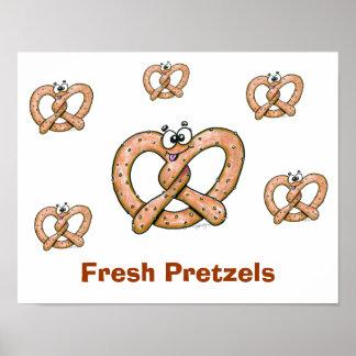 Fresh Pretzels Poster