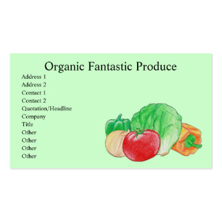 Fresh Produce Business Cards