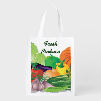 Fresh Produce Design Reusable Tote