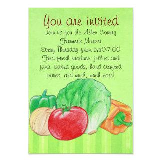 Fresh Produce Invitation