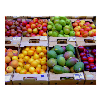 Fresh Produce Poster
