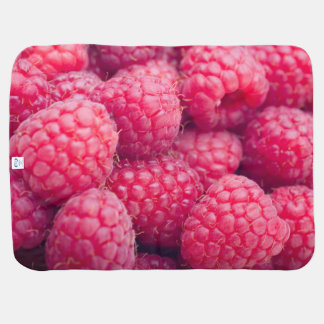 Fresh raspberries pram blankets